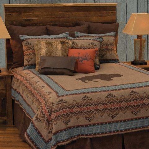 Bison Ridge 1 Bedspread